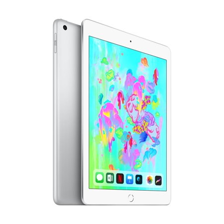128GB Apple iPad (6th Gen) Wi-Fi Tablet [Silver or Space Gray]