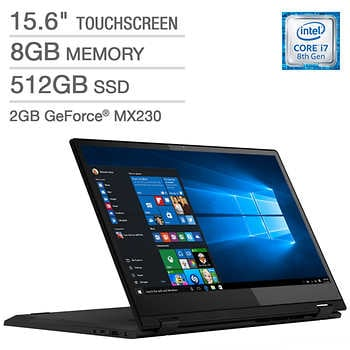 "Lenovo Flex 15 Series 2-in-1 Touchscreen Laptop 81SR000BUS  15.6"" Windows Laptop (Intel Core i7-8565U @ 1.80GHz, 8GB DDR4, `, GeForce MX 230)"
