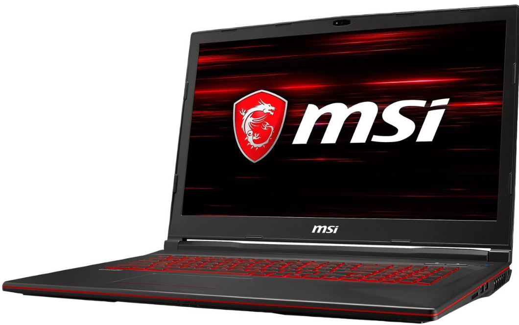 "MSI GL Series GL73 Laptop 9RCX-030  17.3"" Windows Gaming Laptop (Intel Core i5-9300H @ 2.40GHz, 8GB DDR4, 256GB SSD, GTX 1050 Ti)"